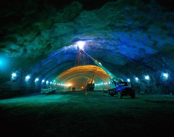 金沙江溪洛渡水电站导流洞工程与电站进水口开挖工程第II标段 完工未